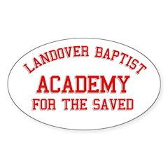 Landover Academy Oval Sticker (10 pk)