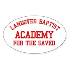 Landover Academy Oval Decal