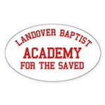 Landover Academy Oval Sticker