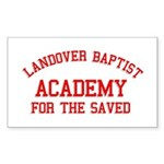 Landover Academy Rectangle Sticker