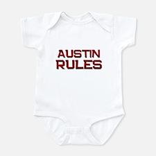 austin rules Infant Bodysuit