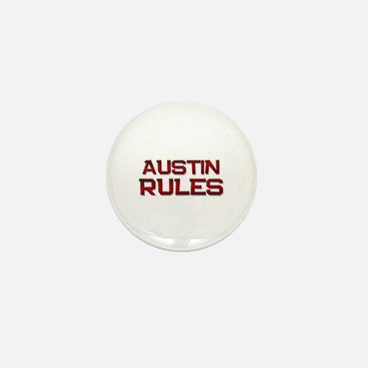 austin rules Mini Button