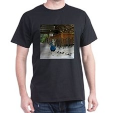 "T-Shirt ""Last Call"" Peacock in a Ba"