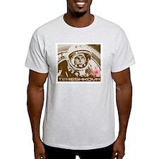 Cosmonaut Valentina Tereshkova Grey T-Shirt