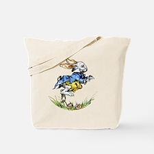 WHITE RABBIT - FOLLOW ME Tote Bag