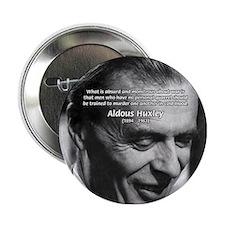 Humanist Aldous Huxley Button