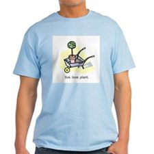 """Live. Love. Plant."" T-Shirt"