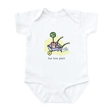 """""""Live. Love. Plant."""" Infant Bodysuit"""