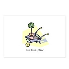 """Live. Love. Plant."" Postcards (Package of 8)"