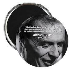 Humanist Aldous Huxley Magnet