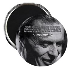 "Humanist Aldous Huxley 2.25"" Magnet (10 pack)"