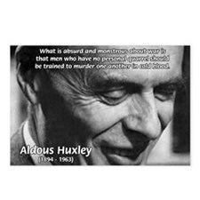Humanist Aldous Huxley Postcards (Package of 8)