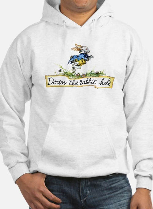 DOWN THE RABBIT HOLE Hoodie