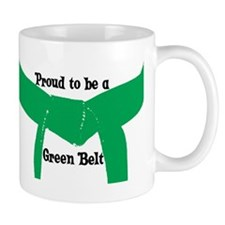 Proud to be a Green Belt Small Mug