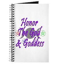 Honor the God & Goddess Journal