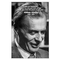 Mysticism Aldous Huxley Posters