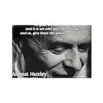 Mysticism Aldous Huxley Rectangle Magnet