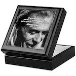 Mysticism Aldous Huxley Keepsake Box