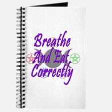 Breathe & Eat Correctly Journal