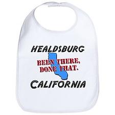 healdsburg california - been there, done that Bib