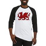 Red Welsh Baseball Jersey