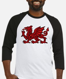 Red Welsh Baseball Jersey