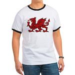 Red Welsh Ringer T