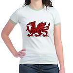 Red Welsh Jr. Ringer T-Shirt