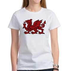 Red Welsh Women's T-Shirt
