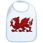 Red Welsh Bib