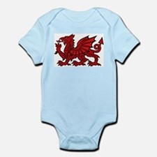 Red Welsh Infant Creeper