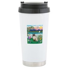 Garden Shore / Himalayan Cat Travel Mug