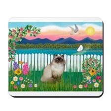 Garden Shore / Himalayan Cat Mousepad