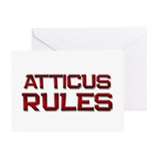 atticus rules Greeting Card