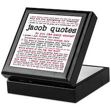 Cute Jacob black Keepsake Box