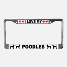 Love/Hearts Poodles