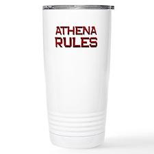 athena rules Travel Mug