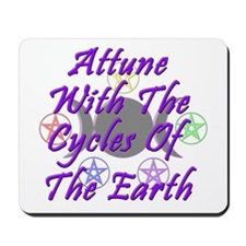 Cycles of the Earth Mousepad