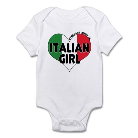 Everyone Loves an Italian Gir Infant Bodysuit