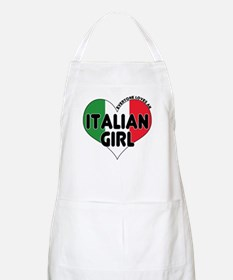 Everyone Loves an Italian Gir BBQ Apron