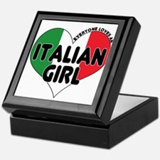 Everyone Loves an Italian Gir Keepsake Box