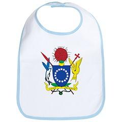 Cook Islands Coat Of Arms Bib