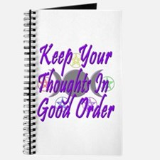 Thoughts in Good Order Journal