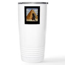 Egyptian Doghouse Travel Mug