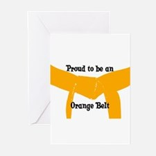 Proud to be Orange Belt Greeting Cards (Pk of 10)
