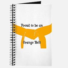 Proud to be Orange Belt Journal
