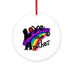 Rainbow Peace Keepsake (Round)