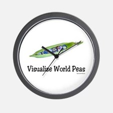 World Peas 2 Wall Clock