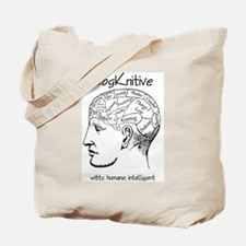 CogKnitive Phrenology Tote Bag