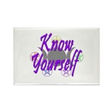 Know Yourself Rectangle Magnet